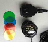 Éclairage Pôle de jardin de Hotsell de qualité avec la lampe Hl-Pl1LED