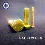 Hexagon-Schraube Y.Z.P der Kopfschrauben-SAE J429 des Grad-8