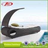 Напольный Daybed Lounger Sun салона фаэтона стула пляжа мебели (DH-9568)