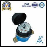 Solo tipo seco contador del agua de la rueda de la paleta (LXSC-13D8b) de jet