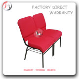 Chaises empilables de conférence de tempe de fabrication industrielle (JC-75)
