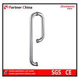 Manija moderna del tirón del acero inoxidable 304 para la puerta de cristal (01-109)