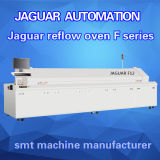 Cadeia de fabricação zonas da produção da máquina SMT do conjunto do PWB do forno 12 do Reflow do elevado desempenho do jaguar