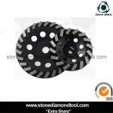 колесо чашки диаманта этапов 180mm Turbo конкретное меля