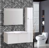 MirrorのWall Mounted新しいPVC White Bathroom Vanity