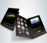 Tarjeta de felicitación video, tarjeta video, libro video