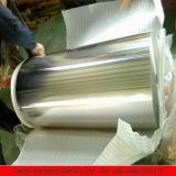 Papel de aluminio en la bobina 8011