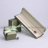 Подгонянная коробка подарка ювелирных изделий специальной бумаги упаковывая