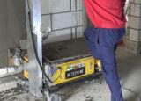 Parede do cimento de Digitas da bomba concreta da construção que emplastra a máquina