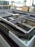 Movimentação dobro automática de fibra óptica de alta velocidade da máquina-instrumento de estaca do controle numérico do metal da máquina de estaca do laser grande numérica