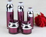 Vaso acrilico impaccante della crema della bottiglia della lozione di serie dell'estetica ovale di qualità superiore (PPC-CPS-042)