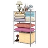 熱いSale 4 Tier Adjustable Metal Storage Rack (ホーム記憶のためのWS16-0038、)
