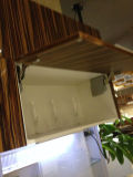 Cabinas de cocina de madera artificiales de la chapa