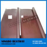 Резиновый покрытое изготовление магнитов NdFeB неодимия
