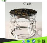 金属のステンレス鋼のコーヒーテーブルCT18