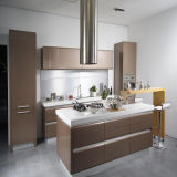 De moderne Glanzende Keukenkast van de Lak (zh-K16)