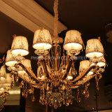 Luz de cristal moderna do candelabro da HOME da iluminação do dispositivo elétrico da lâmpada do pendente da decoração de Phine