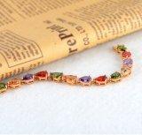 De kleurrijke Armbanden van de Overeenkomst van Zircon van de Traan Vrouwelijke (cbr0018-c)