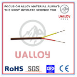 Изолированный резиной удлинительный кабель термопары