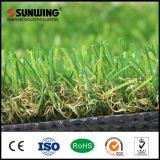 Alfombra natural artificial incombustible de la hierba del jardín que ajardina con Ce