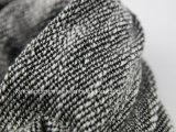 Шарф шеи 100% акриловый серый связанный