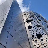 Peforated astratto Aluminum Panel per Cladding