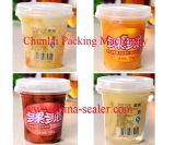 Máquina de relleno del lacre de la fruta conservada de la taza de la buena calidad 2015 (SGF-4C)