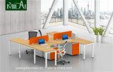 移動キャビネットが付いている良質の事務机のオフィスの区分のオフィス用家具
