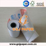 papier 55GSM thermosensible pour la machine de position pour le marché de Dubaï