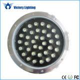 Luz de la fuente de IP68 LED, luz subacuática del LED