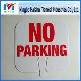 Пластмасса отсутствие подгонянного знака стоянкы автомобилей, отсутствие предупредительного знака стоянкы автомобилей