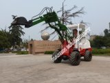Hydraulic Pallet Forkの新しいセリウムApproved Mini Farm Loader (HQ910C)