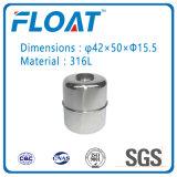 Bola de acero inoxidable de la bola del flotador magnético para el interruptor de flotador de nivel de agua