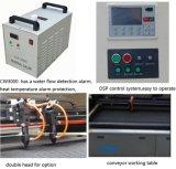 140100 de rubberMachine van de Gravure van de Laser met Nauwkeurige Lineaire Sporen