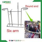 스테인리스 6 방법 팔 둥근 의복 선반