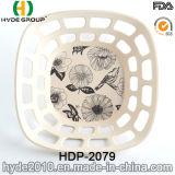 Biodegradierbare Frucht-Bambusfaser-Picknick-Korb (HDP-2079)