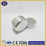 опарник 30g 50g алюминиевый пластичный серебряный для косметики (SKH-1449)