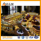 상업적인 건물은 /Exhibition 모형 또는 프로젝트 건물 축소 모형을 만든다