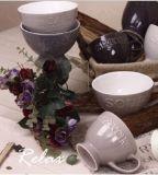 يزيّن كلمة أو علامة تجاريّة [فووتد] أثر قديم منتج حجريّ حساء إبريق