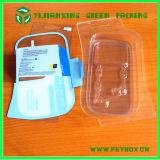 Коробка наушников пластичная прозрачная упаковывая