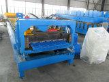 Rullo popolare del pannello del tetto della lamiera di acciaio che forma mattonelle che fanno macchina