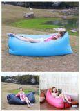 2016新しいLaybagのたまり場の空気寝袋の不精なLaybagの速く膨脹可能で不精な椅子のソファー携帯用浜ナイロンファブリックスリープベッド