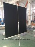 """Projektions-Bildschirm des Fabrik-Preis-70 des Stativ-"""" X70 """" mit Mattweiß"""