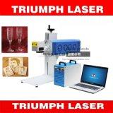 Precio de cristal de madera de la máquina de la marca del laser del CO2 de la insignia de la máquina de la marca del grabado del CO2 de Triumphlaser
