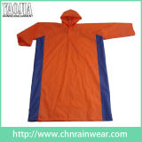 Promotional Fashion Design PVC Long Raincoat for Adult