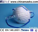 Маска респиратора от пыли Ffp2 устранимого лицевого щитка гермошлема Non-Woven