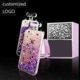 geval van de Telefoon van het Drijfzand van de Liefde van iPhone 6/6plus het Transparante Mobiele de Dynamische Fles van het Parfum (xsdd-045)