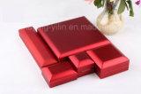 Cadre léger de luxe de cadre de bijou de cuir de cadre de DEL