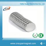 Постоянный спеченный магнит диска неодимия N50
