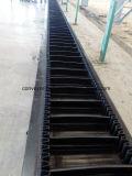Bande de conveyeur en caoutchouc de flanc pour l'ascenseur de position dans la station de mélangeur